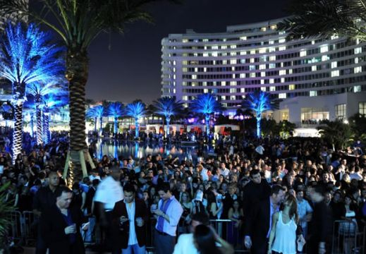 Fontainebleau South Beach Party