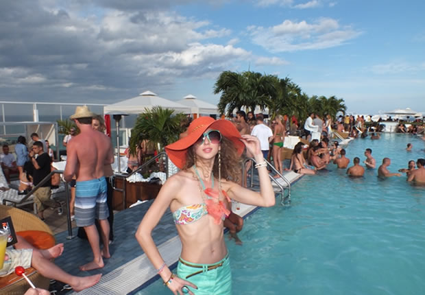 Top Party Hotels In South Beach Hotel The Standard
