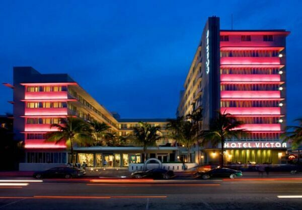 The Victor Hotel in Ocean Drive Miami Beach