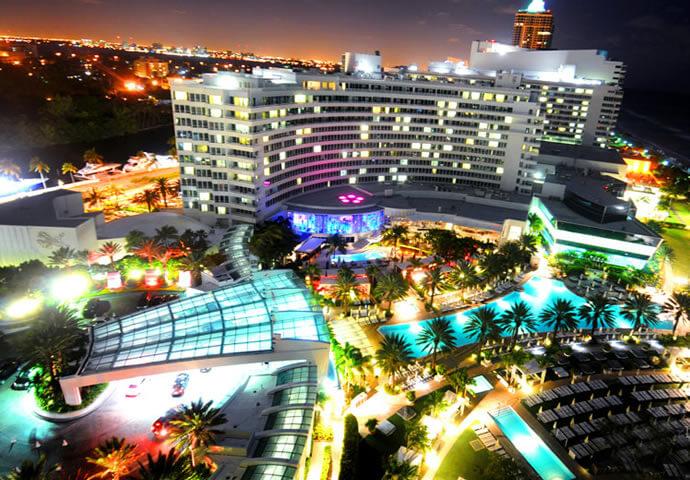 Fountainbleau Hotel Miami Restaurants