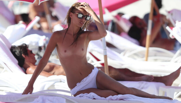 We wrote an article on where you can have a topless sunbath in Miami Beach.