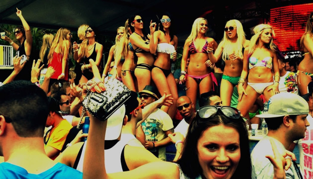 Every day there is a party in Miami Beach!